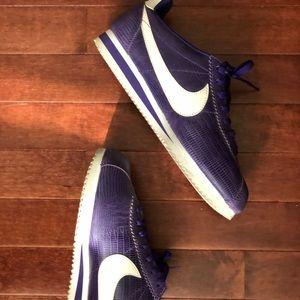 Nike blazers- purple- like new